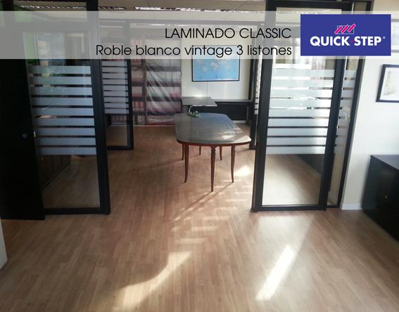 instalacion laminado quick-step classic