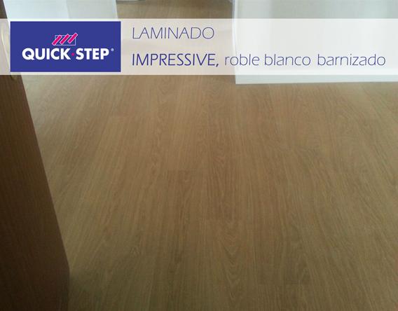 instalacion laminado quick step impressive