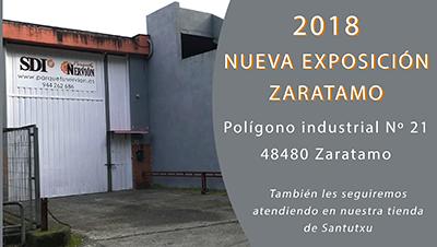 NUEVA EXPOSICION PABELLON ZARATAMO