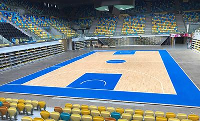 Pista Gran Canaria Arena Desmontable A4 pista principal