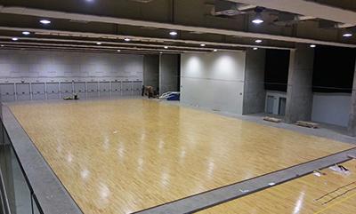 Pista Gran Canaria Arena Desmontable A4 primer montaje