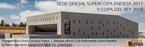 Supercopa Endesa Polideportivo Gran Canaria Arena