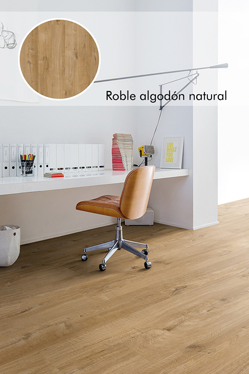 Roble algodón natural_Livyn Quick Step