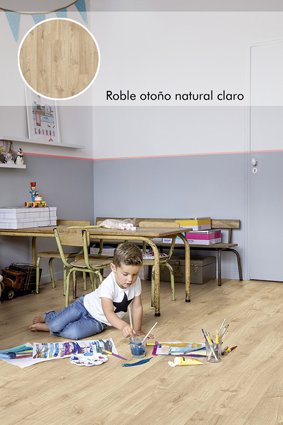Roble otoño natural claro_Livyn Quick Step