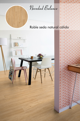 Roble seda natural cálido_Livyn Quick Step