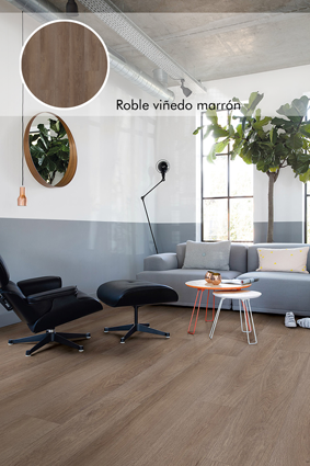 Roble viñedo marrón_Livyn Quick Step