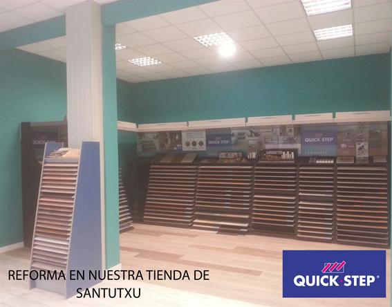 reforma nuestra tienda Santutxu
