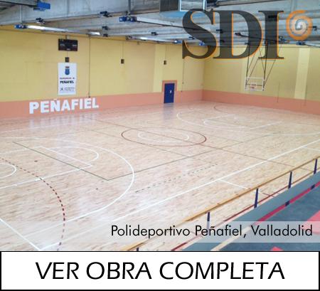 Polideportivo Peñafiel, Valladolid Junckers