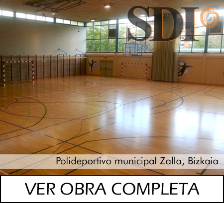 Polideportivo municipal, Zalla