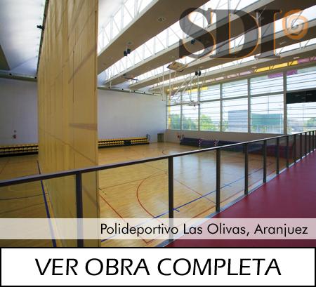 Polideportivo Las Olivas, Aranjuez