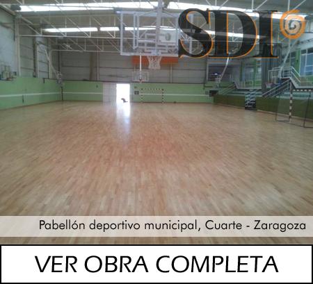 Pabellón deportivo municipal, Cuarte de Huerva Zaragoza
