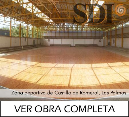 Zona deportiva de Castillo de Romeral
