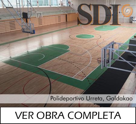 Polideportivo Urreta, Galdakao