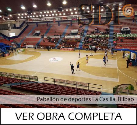 Pabellon de deportes La Casilla