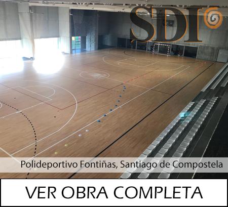 Polideportivo Fontiñas Santiago de Compostela