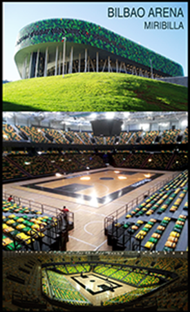 desmontaje pista Bilbao Arena, Parquets Nervion
