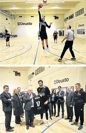 Inauguracion complejo deportivo Uni Deusto