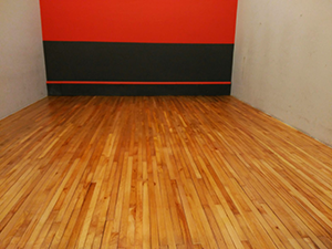 restauracion pista de squash Parquets Nervion