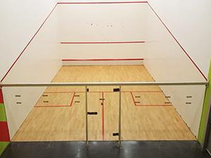 renovacion pista de squash Parquets Nervion
