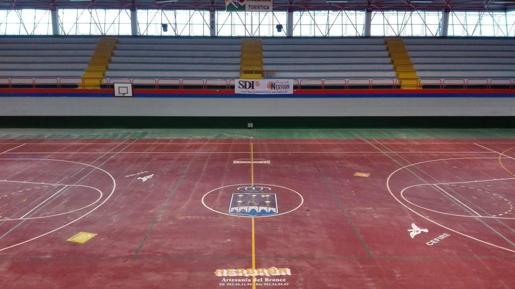 cemento pavimento deportivo
