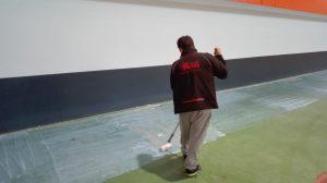 pasta alisadora pavimento